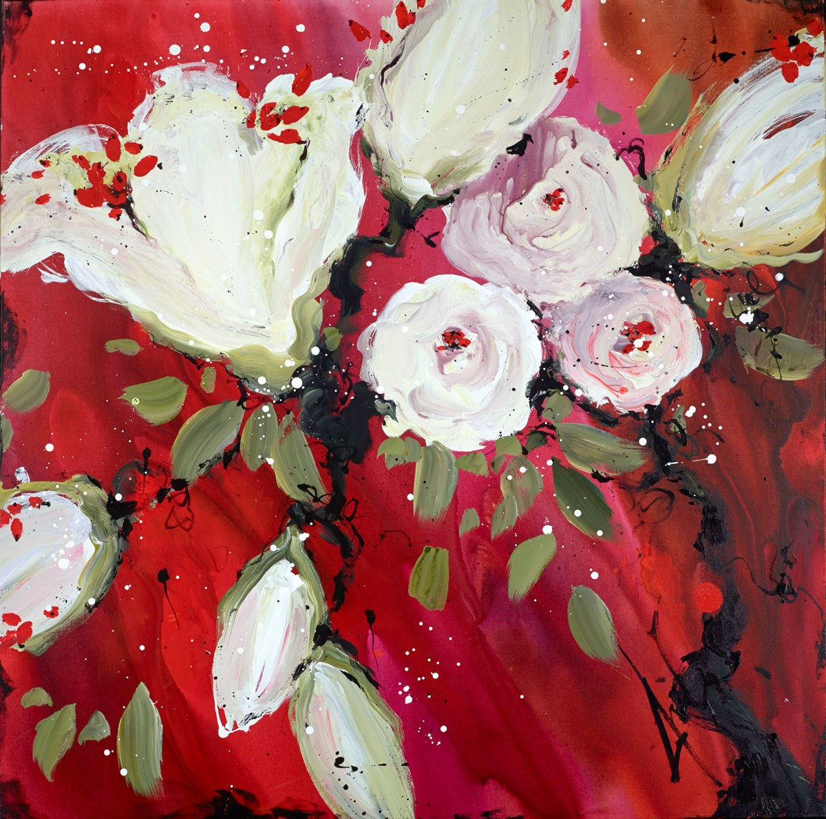 Roll on Beauty by danielle o'connor akiyama -  sized 48x48 inches. Available from Whitewall Galleries